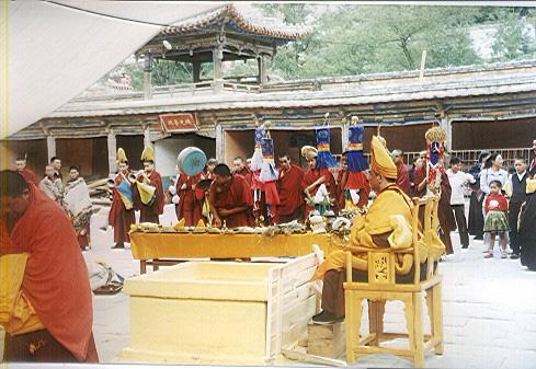 青海省塔尔寺 - 著名景点